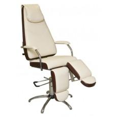 Педикюрное кресло МИЛАНА гидравлическое с опорами под ноги