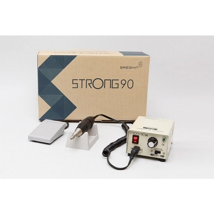 """Маникюрно-педикюрный аппарат """"Strong 90N/102"""" (с педалью в коробке)"""